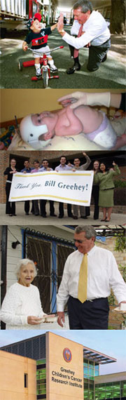 Greehey foundation collage